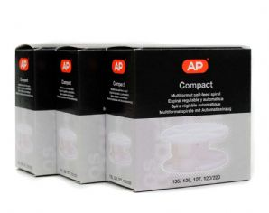 3 x AP Film Spools for 35mm & 120